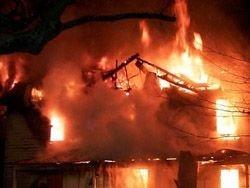 В Москве горело общежитие университета картографии
