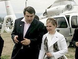 Тимошенко рассказала о договорённостях с Саакашвили