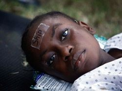 На Гаити началась торговля детьми