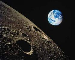 В появлении Луны обвинили ядерный взрыв