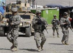 Солдаты НАТО вступили в бой в Афганистане