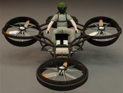 Создан сверхлегкий персональный военный вертолет
