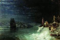 В Мраморном море столкнулись суда