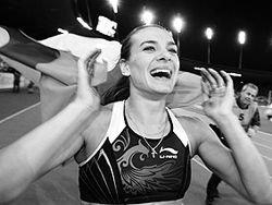 Исинбаева признана лучшей легкоатлеткой десятилетия