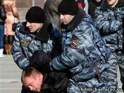 В Петербурге идет разгон акции в защиту Конституции РФ