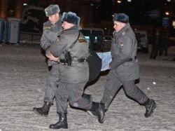 Задержанные в центре Москвы Немцов и Лимонов отпущены