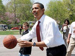Барак Обама стал баскетбольным комментатором
