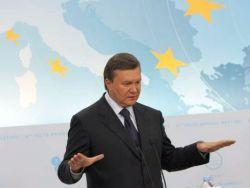 Янукович отправляется в первую зарубежную поездку