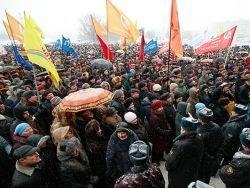 В Калининградской области продолжаются акции протеста