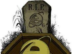"""Дизайнеры объявили о \""""смерти\"""" Internet Explorer 6"""