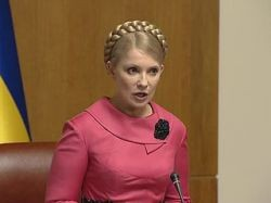 Тимошенко требует скорейшей отставки правительства