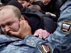 ОМОН избил участников стихийного митинга в Иркутске