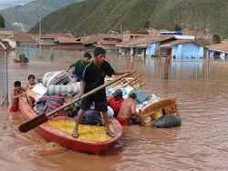 Жертвами наводнений в Перу стали восемь человек