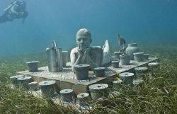 Музей на дне Карибского моря