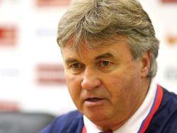 Хиддинк прощается с российской сборной