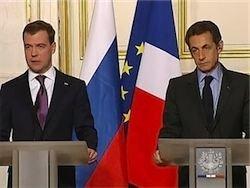 Саркози предложил Медведеву помощь в модернизации России