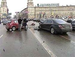 У ДТП с участием авто бонзы Лукойла уже пять свидетелей