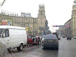 """Очевидцы аварии на Ленинском испугались \""""Лукойла\"""""""