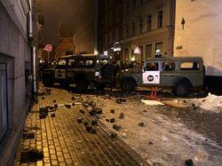 В Греции протестующие ворвались в здание Минфина