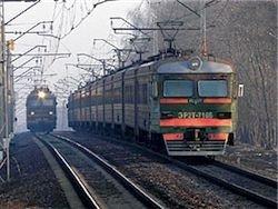 В пригородном поезде под Москвой произошла массовая драка