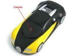 Мобильный телефон в форме Bugatti Veyron
