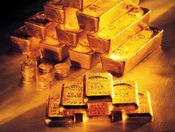 Добыча золота в РФ в январе упала почти на 60%