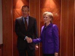 Лавров и Хиллари Клинтон обсудили новый договор о СНВ