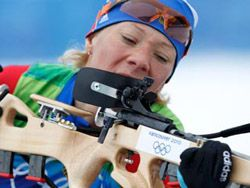 Ольга Зайцева стала второй на этапе Кубка мира