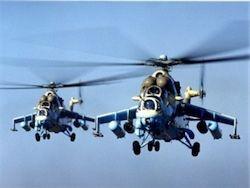 Украина модернизирует ударные вертолеты Ми-24