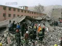 Число жертв землетрясения в Китае составило 589 человек