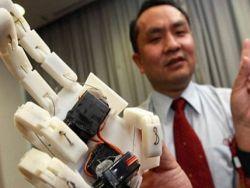 Китайцы изобрели электронные руки для интернета