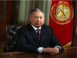 Курманбек Бакиев покинул Киргизию