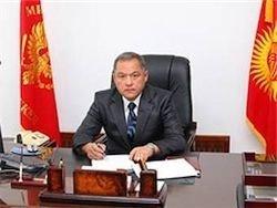 В Киргизии задержан бывший министр обороны