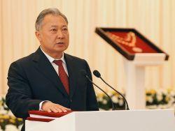 Оригинал заявления об отставке Бакиева доставлен в Киргизию