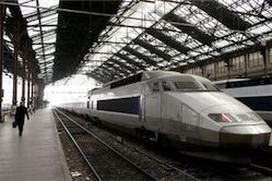 Во Франции бастуют железнодорожники