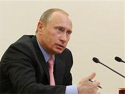 Путин в Мурманске зашел в аптеку за арбидолом