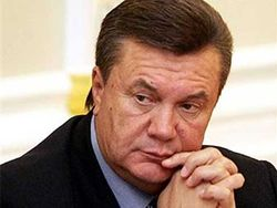 Предвыборные обещания Януковича под сукном
