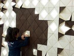 Концепт: Лампа оригами