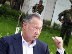 Следы Бакиева обнаружили в Алматы