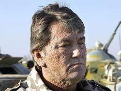 Ющенко поехал на похороны Качиньского на автомобиле