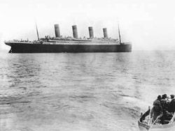 "Письмо пассажира \""Титаника\"" установило аукционный рекорд"