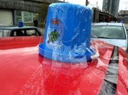 Автопробег Общества синих ведерок