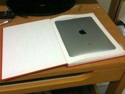 Как сделать из старой книги футляр для iPad