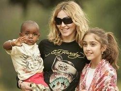 Мадонна освятила свой особняк