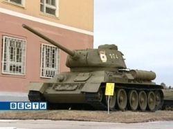 Легендарный Т-34 возглавит колонну техники 9 Мая