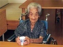 Самой пожилой жительницей планеты признана Эжени Бланшар