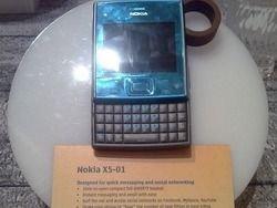 Nokia анонсировала квадратный музыкальный слайдер X5-01