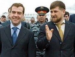 Медведев прилетел в Чечню
