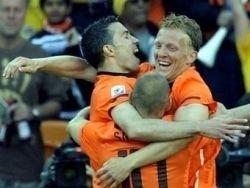 Голландия обыграла датчан в матче ЧМ-2010