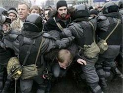 Осужденный на 2,5 года за участие в митинге об оппозиции и власти